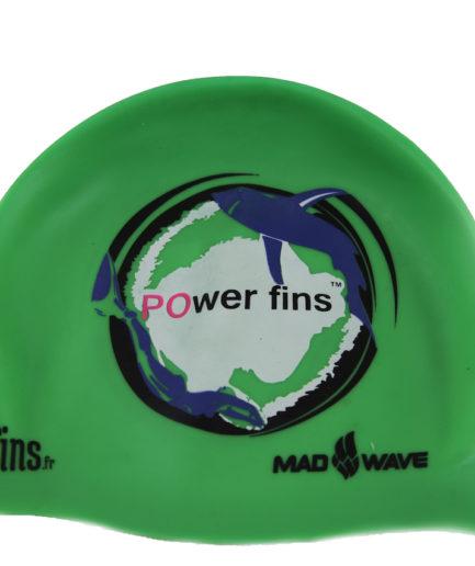 bonnet-bain-powerfin-fluo-vert