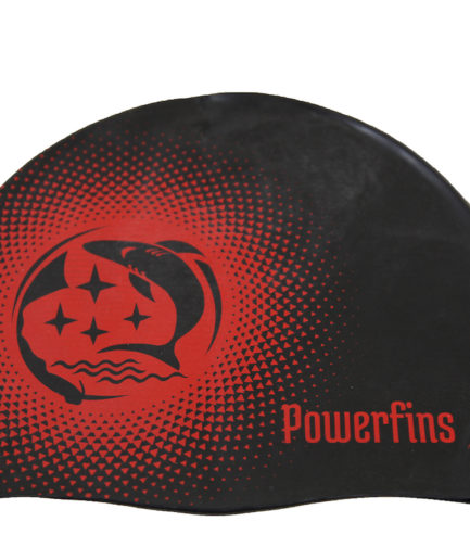 bonnet-bain-powerfins-noir-rouge